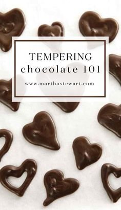 Tempering Chocolate 101   Martha Stewart Living - Tempering -- a technique that stabilizes chocolate -- creates a glossy sheen and a crisp snap in finished candies.