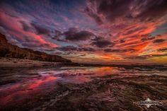 Sunset Cliffs by Evgeny Yorobe