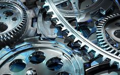 Mechanism wallpaper