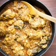 ... , and aromatic chicken simmered in a tomato and eggplant based sauce