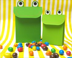 Cute Frog party bags