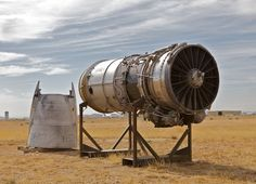 Jet engine without a jet The Mojave Desert's Airplane Graveyard