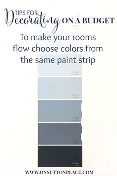 10 Budget Decorating Tips | How to use Paint | On Sutton Place