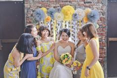 A yellow country vintage wedding at lotta caf muar pinterest a yellow country vintage wedding at lotta caf muar pinterest muar wedding notebook and backyard weddings junglespirit Images