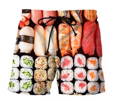 Sushi swimshort – Smooooth clothing