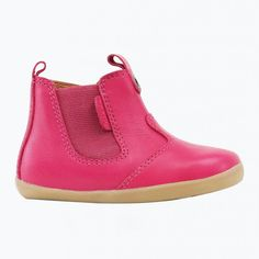 Bobux Step Up - Bota Jodphur fucsia