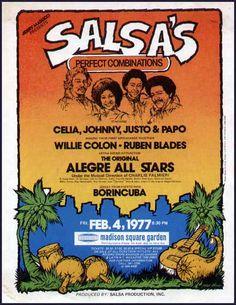 Salsa Musica, Puerto Rico Pictures, Music Posters, Puerto Ricans, Latina, Pride, The Originals, Vintage, Interview