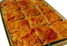 Κρητική Αποκριάτικη Πίτα με συκωτάκια Lasagna, Ethnic Recipes, Food, Eten, Meals, Lasagne, Diet