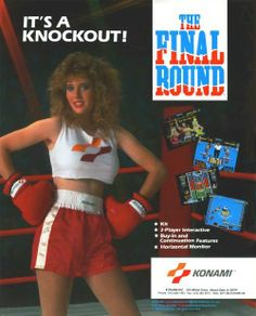 The Arcade Flyer Archive - Video Game Flyers: Final Round, The, Konami 90s Video Games, Vintage Video Games, Classic Video Games, Women Drivers, Dress Down Day, Awkward Family Photos, School Videos, Scantily Clad, Inspiration For Kids