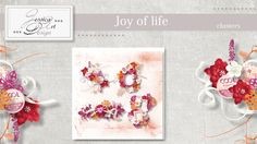 Joy of life clusters by Jessica art-design