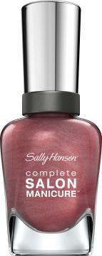 Complete Salon Manicure™ | Sally Hansen.301 Raisin the bar. Muted summer colour.