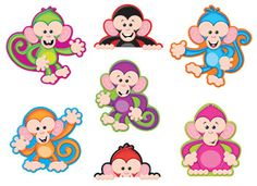 Color Monkeys Accents Standard Size Variety Pack by Trend Enterprises Inc. $6.29