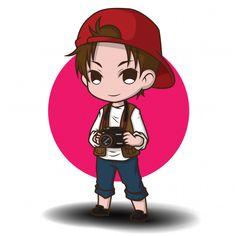 Chibi, Cartoons Vector, Character Art, Baby Drawing, Cute Art, Cartoon Characters, Cartoon Wallpaper, Cartoon, Cute Cartoon Boy