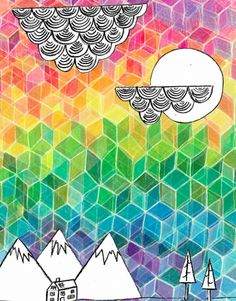 graphic design // colorful