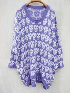 pastel skull draped sweater...  CAN ANYBODY PLEASE TELL ME WHERE I CAN BUY THIS?!
