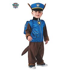 Boy's Chase Toddler Costume | Discount PAW Patrol Costumes for Babies