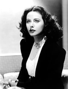 Hedy Lamarr by Clarence Sinclair Bull, 1943.
