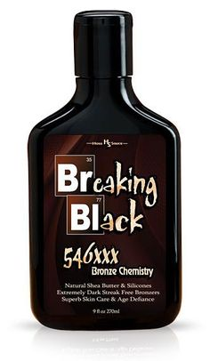 Breaking Black 546xxx Bronzer is by far the most pure tanning bronzer formula you have ever tried.