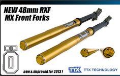 NEW Ohlins 48mm RXF Factory Front Forks