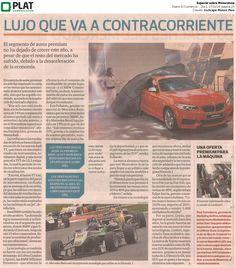 Inchcape Motors: Especial sobre el Motorshow en el diario El Comercio de Perú (17/11/14)