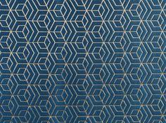 Tissu d'ameublement à motifs graphiques HOOPSTAR by Aldeco, Interior Fabrics