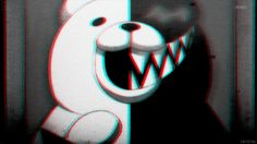 Dangan Ronpa GIF. The mind of Monokuma. Is THIS GIF XD