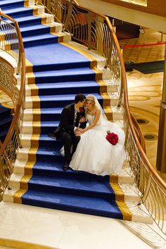 Disney Cruise Line Wedding - DCL Dream - Jillian and Michael