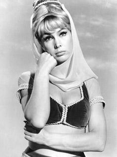 Barbara Eden - 'I Dream of Jeannie'. Watched this so much as a kid and still…