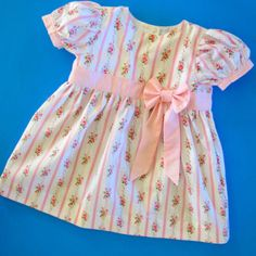 Baby's Party Dress 0-24 Months | Sewing Pattern | YouCanMakeThis.com
