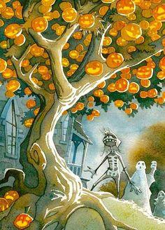 Gris Grimley 'The Halloween Tree'