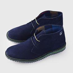 Hombre Zapatos De Hombre Camper De Piel Lisa Marino Azul