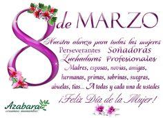 Feliz dia Internacional de la Mujer!
