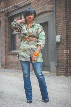 Camo Fashion, 60 Fashion, Black Women Fashion, Diva Fashion, Military Fashion, Plus Size Fashion, Fashion Outfits, Sweet Fashion, Camo Outfits