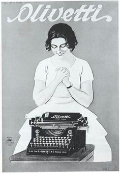 #Olivetti, #vintage #advertising #pubblicità