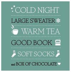 The best thing on a cold night Tea And Books, I Love Books, Good Books, Books To Read, My Books, Now Quotes, 2015 Quotes, Night Quotes, Cold Night