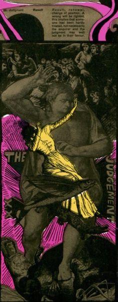 Martin Sharp's psychedelic tarot cards from 1967 - If you love Tarot, visit me… Judgement Tarot Card, Diy Tarot Cards, Martin Sharp, Oz Magazine, Tarot Cards For Beginners, San Francisco, Love Tarot, Tarot Major Arcana, Dangerous Minds