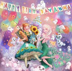 「Happy Birthday Anna」/「kazeco」のイラスト [pixiv]