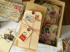 postage tags