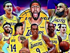THIS S*** JUST GOT REAL.. #LAKERCREW4LIFE L'S UP! Basketball Art, Basketball Players, Lakers Wallpaper, Nba Wallpapers, Magic Johnson, Western Conference, Stephen Curry, King James, Los Angeles Lakers
