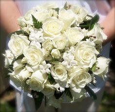 Wedding Bouquet of Silk Flowers