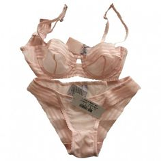 Pink Lingerie LA PERLA ($110) ❤ liked on Polyvore featuring intimates, lingerie, underwear, undergarments, bra, la perla lingerie, pink lingerie and la perla