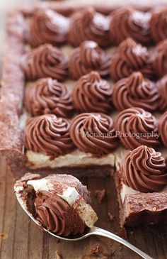 Tarte Cappuccino Chocolate-almond pastry crust, coffee mascarpone, mocha ganache