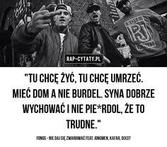 #rapcytatyofficial #rapcytaty #hiphopcytaty #cytaty #rap #hiphop #polskirap #polskihiphop #tylkorap #jednamiłość #cytatyrap #cytatyhiphop… Rap, Hip Hop, Quotes, Movies, Movie Posters, Instagram, Quotations, Films, Film Poster