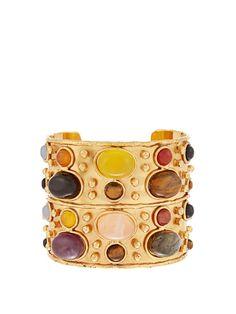 Sylvia Toledano Byzance medium gold-plated cuff