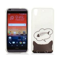 WEMO IMD Frost TPU HTC Desire 626/626S Case - Hungry Cat