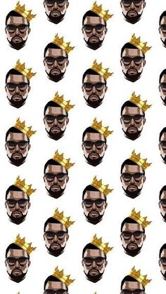 kanye west, patterns, and wallpapers image
