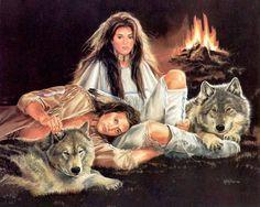 Indian paintings by Maija