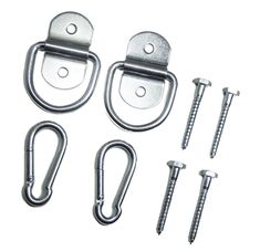 Indoor Hammock Hanging Kit By Live Infinitely Hammock Accessories -Holds 600 Lbs-Includes Hammock Hooks, Carabiners, & Lag Bolts for Hanging Your Hammock Indoors or Anywhere You Want (Zinc Plated) Indoor Hammock Chair, Rope Hammock, Diy Hammock, Hammock Stand, Hammock Ideas, Diy Hanging, Hanging Chair, Hammock Accessories, Home