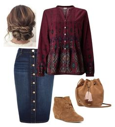 """""""♥"""" by raemarie19 on Polyvore featuring River Island, EAST, Nine West and UGG"""