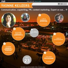 Graphical bio: Yvonne Keijzers